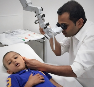 Ear wax removal via microsuction- children and adults