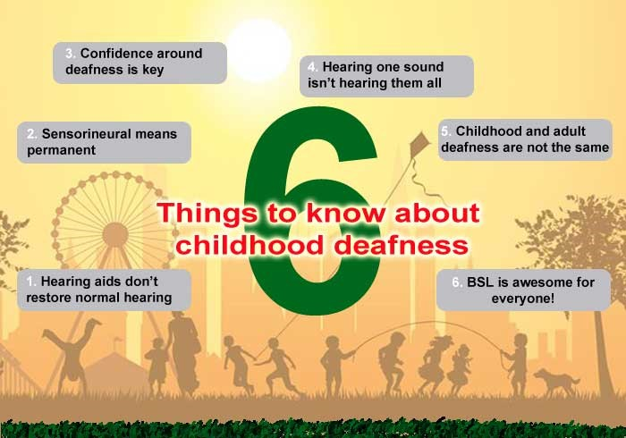 6 Things Parents Should Know about Children's Hearing Loss